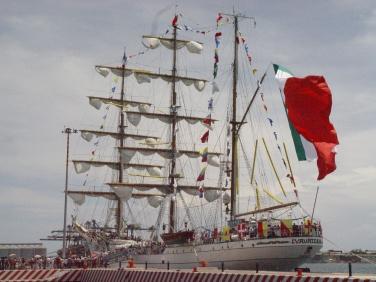 Barco Escuela de la Armada Mexicana