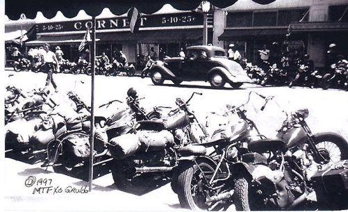 Calle de Hollister el 4 de julio 1947.