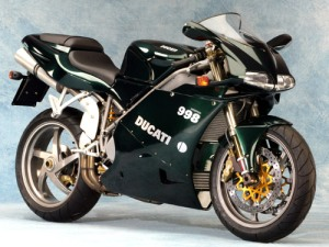 "La Ducati Monster 998 de ""Matrix Reloaded"""