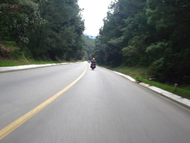 Conducción en autopista.