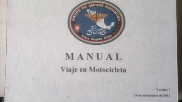 Manual de Viaje en Motocicleta.