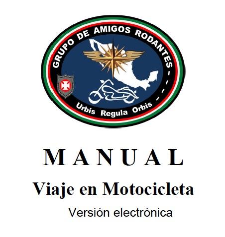 Caratula Manual de Viaje en Motocicleta