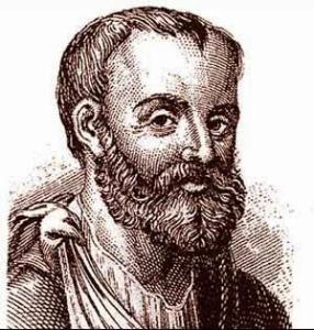 Galeno, cirujano del emperador Marco Aurelio. Aprendió el manejo del trauma con los gladiadores.