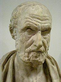 Hipócrates. gran clínico.
